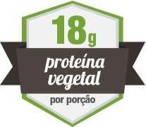 18g de Proteína Vegetal