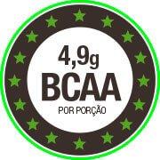 4,9g de BCAA por dose