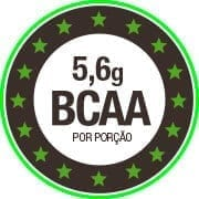 5,6g de BCAA por dose