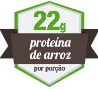 22g de Protína Vegetal de Arroz
