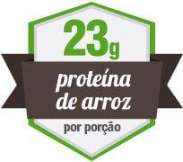 23g de proteína vegetal de arroz