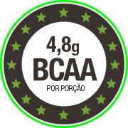 4,8g de BCAA por dose de Proteína de Ervilha