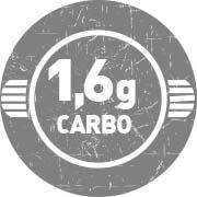 1,6g de Carboidratos