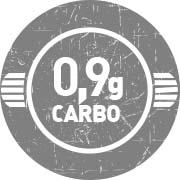 0,9g de Carboidrato