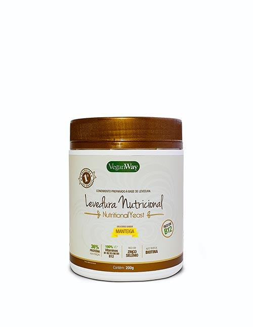 Levedura Nutricional Sabor Manteiga