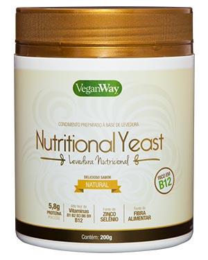 Levedura Nutricional em Pó Sabor Natural