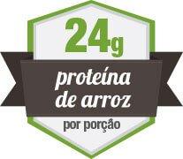 24g de proteina de arroz sem sabor