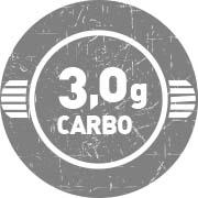 3 gramas de Carboidrato