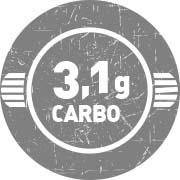 3,1g de Carboidratos