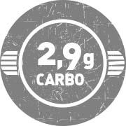2,9 g de Carboidratos