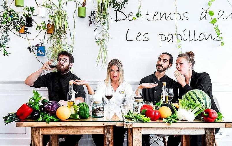 ONA Restaurante Vegano francês ganha estrela no Guia da Michelin